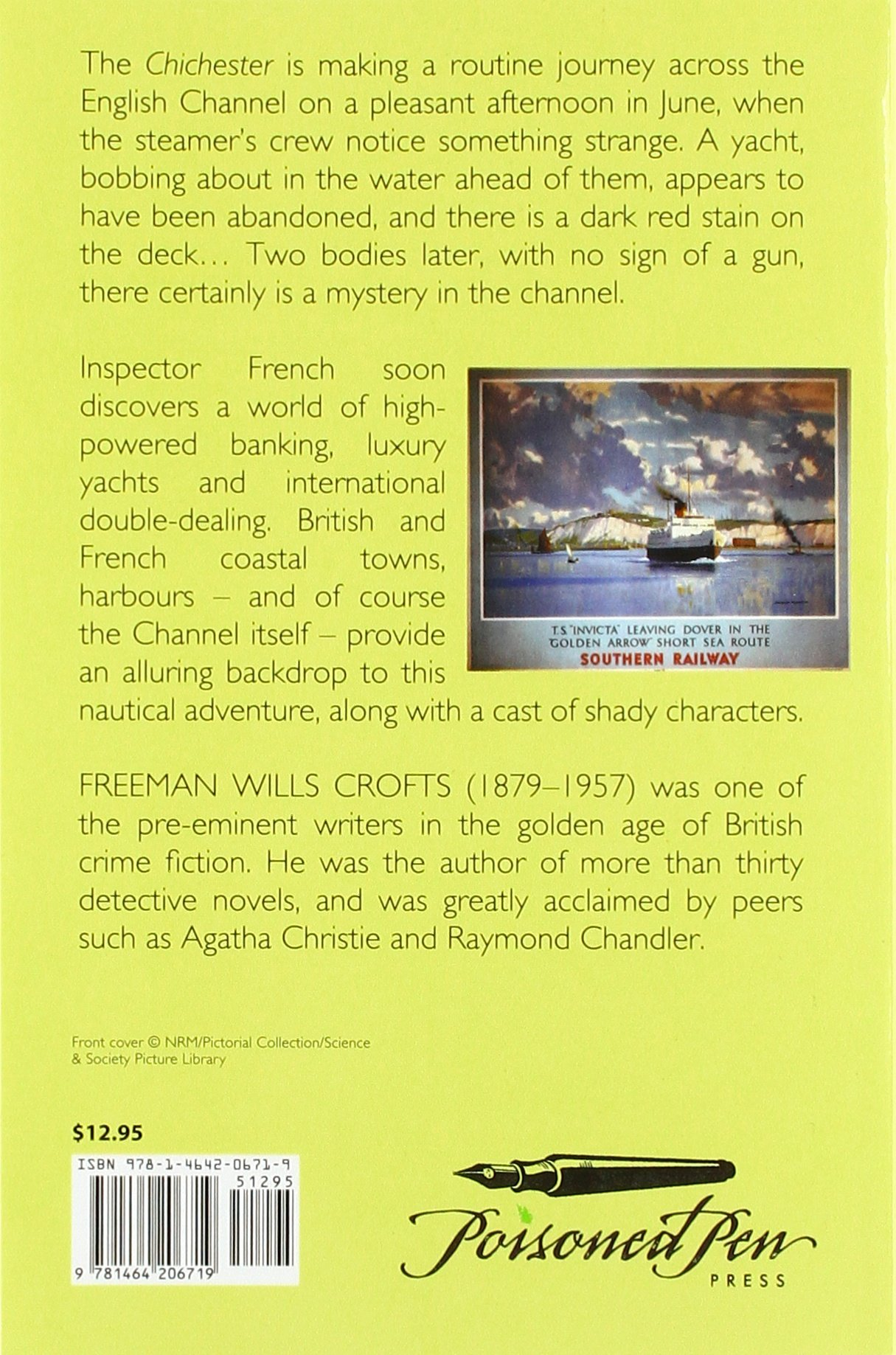 Mystery In The Channel (british Library Crime Classics): Freeman Wills  Crofts: 9781464206719: Amazon: Books