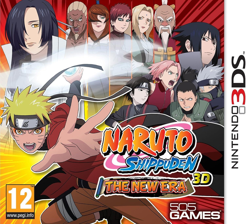 Import Anglais]Naruto Shippuden 3D The New Era Game 3DS: Amazon.es ...