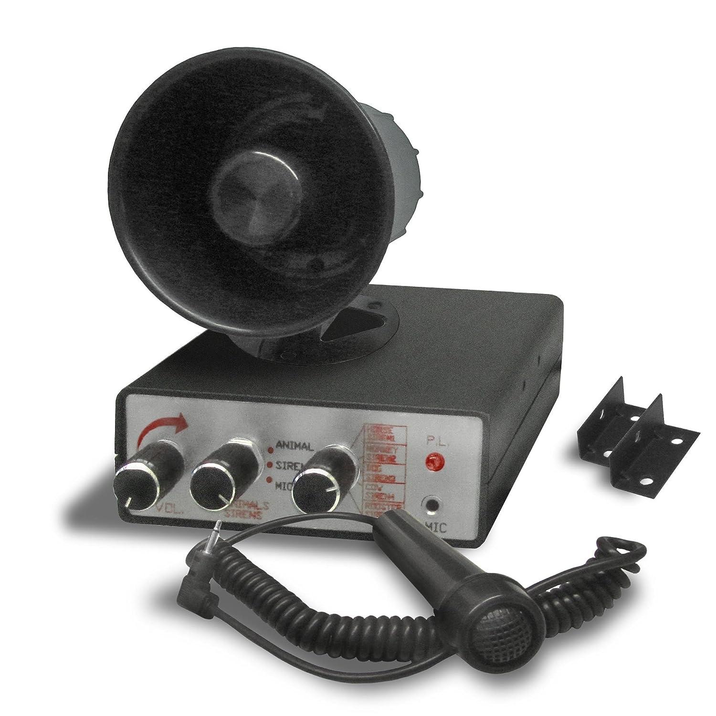 JOM 127084 sirena, 10 sonidos differentes, 5 alarmas, 5 ...