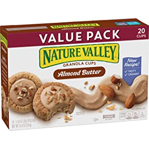Nature Valley Granola Cups, Almond Butter, 12.4 oz