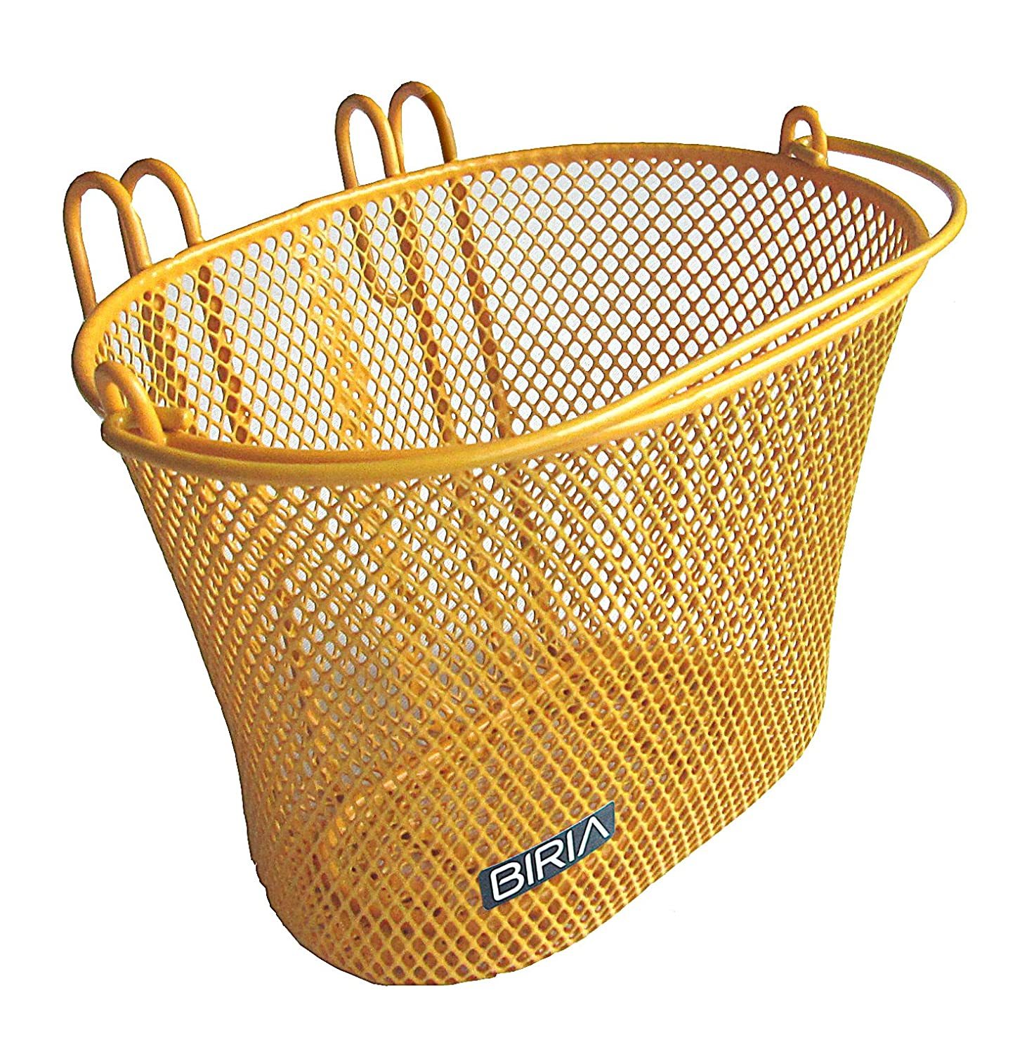 yellow cruiser bike basket