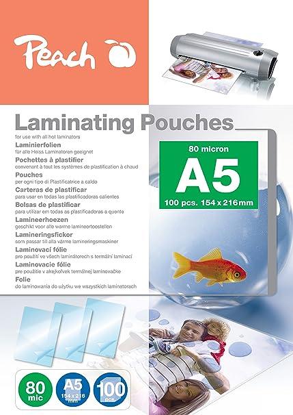 Peach PP580-03 A5 Laminating Pouches