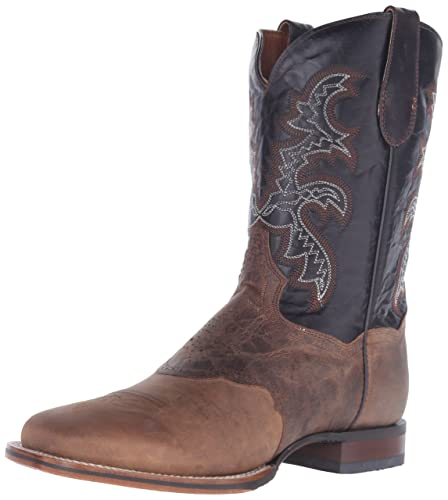 Dan Post Boots Men's Franklin DP2815,Sand Mad Cat Leather,US 13 EW