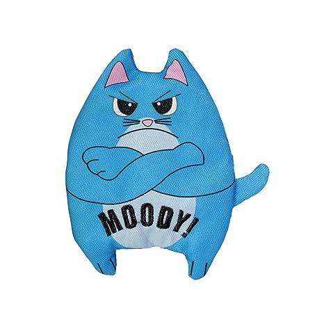 Kong - Juguete para Gato con Texto en inglés Purrsonality Moody Cat