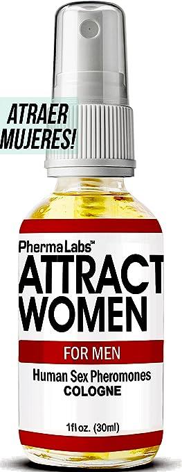 PhermaLabs Feromonas Colonia Para Hombre- 1.0 oz- Atraer Mujeres instantáneamente! Mayor Concentración De