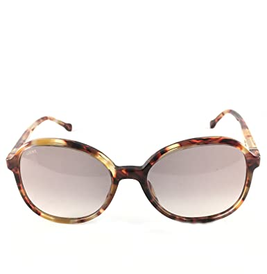 Loewe Damen Sonnenbrille SLWA29M520T94, Gelb (Streaked Yellow Havana), 52