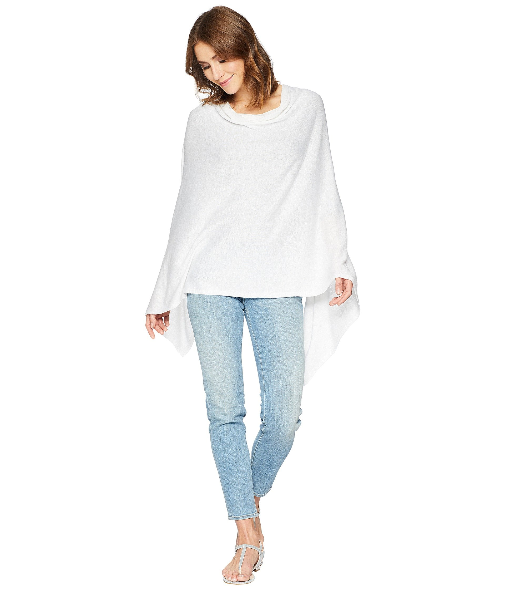 Echo Women's Everyday Topper Ivory, One Size