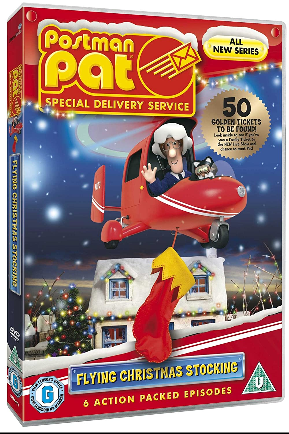 Postman Pat Special Delivery Service: Flying Christmas Stocking ...