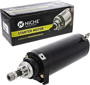 NICHE Starter Motor Assembly 50-44415 For Mercury Marine 50-884238T 135 200 HP 2.5L V-6