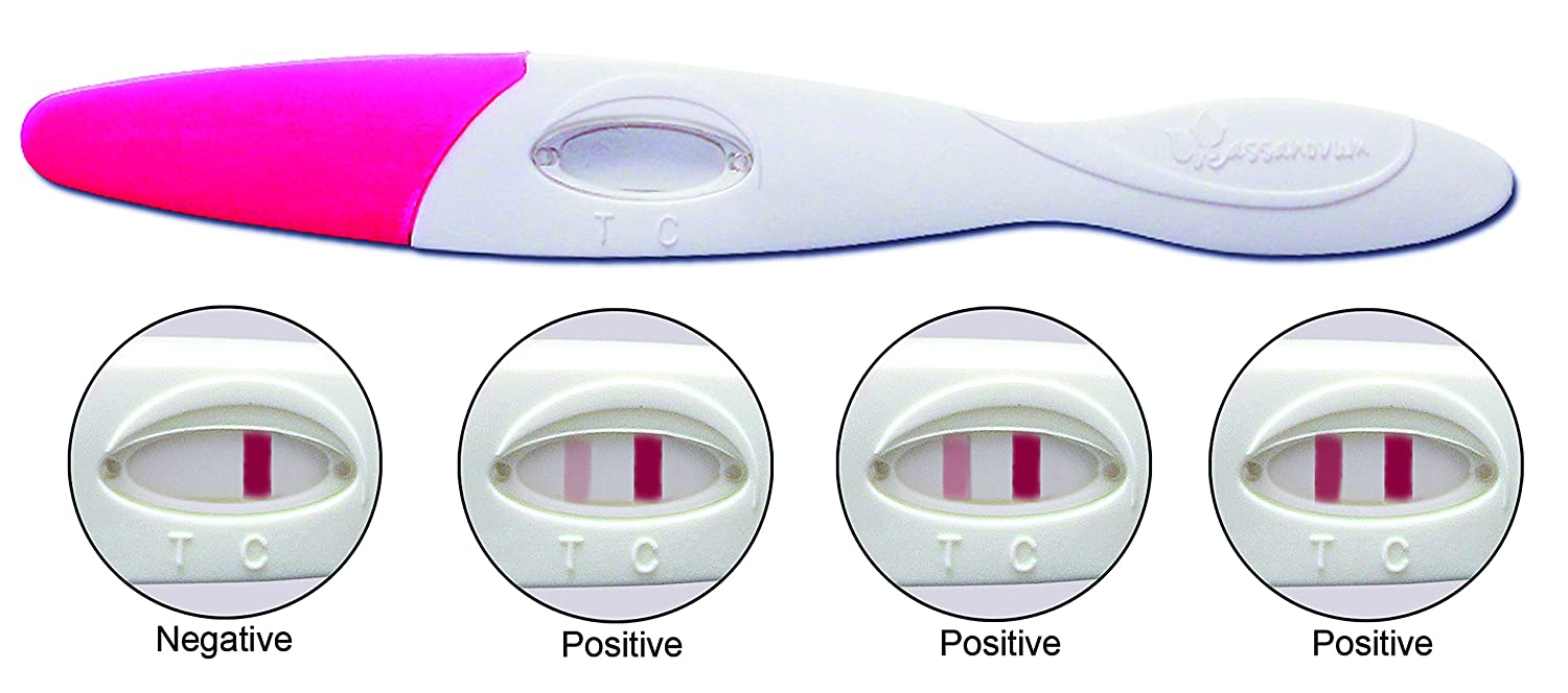 Cassanovum Compact Midstream Early Detection Pregnancy Tests - Pack of 5
