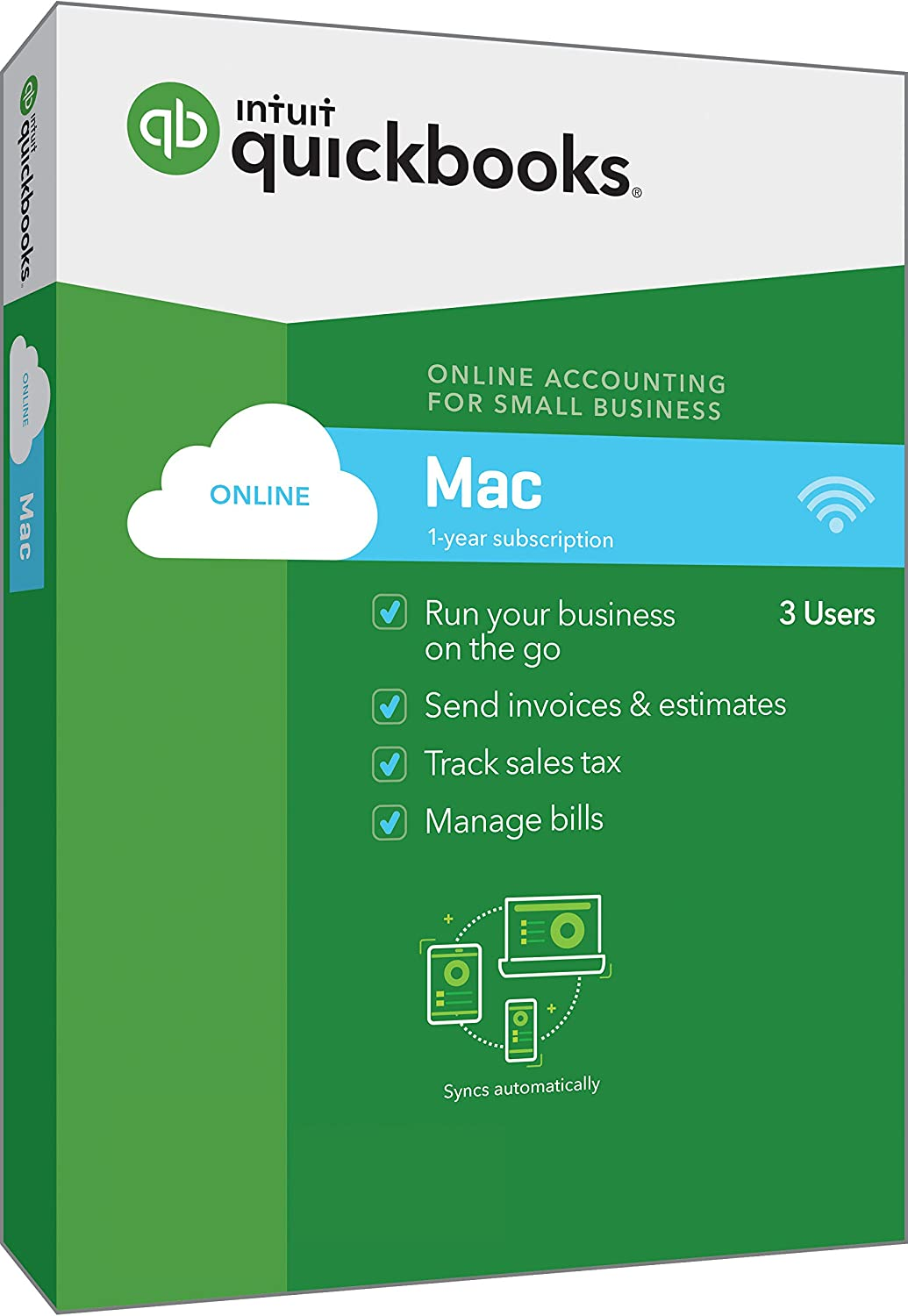 QuickBooks Online for Mac 2018 Small Business Accounting [Mac Disc] [OLD VERSION]