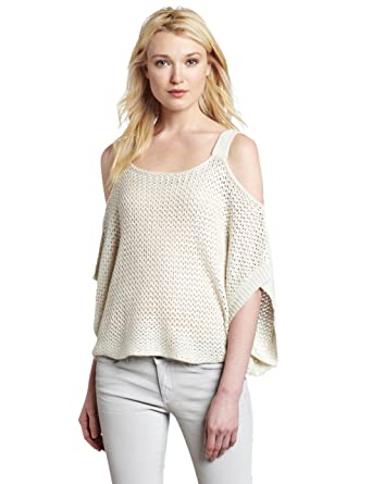 36a892de4 Willow   Clay Women s Cold Shoulder Sweater