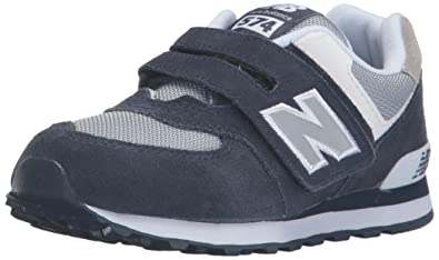 half off 08fd3 0bc08 New Balance Unisex Kids  KV574NWY-574 Hi-Top Sneakers, Multicolor (Navy