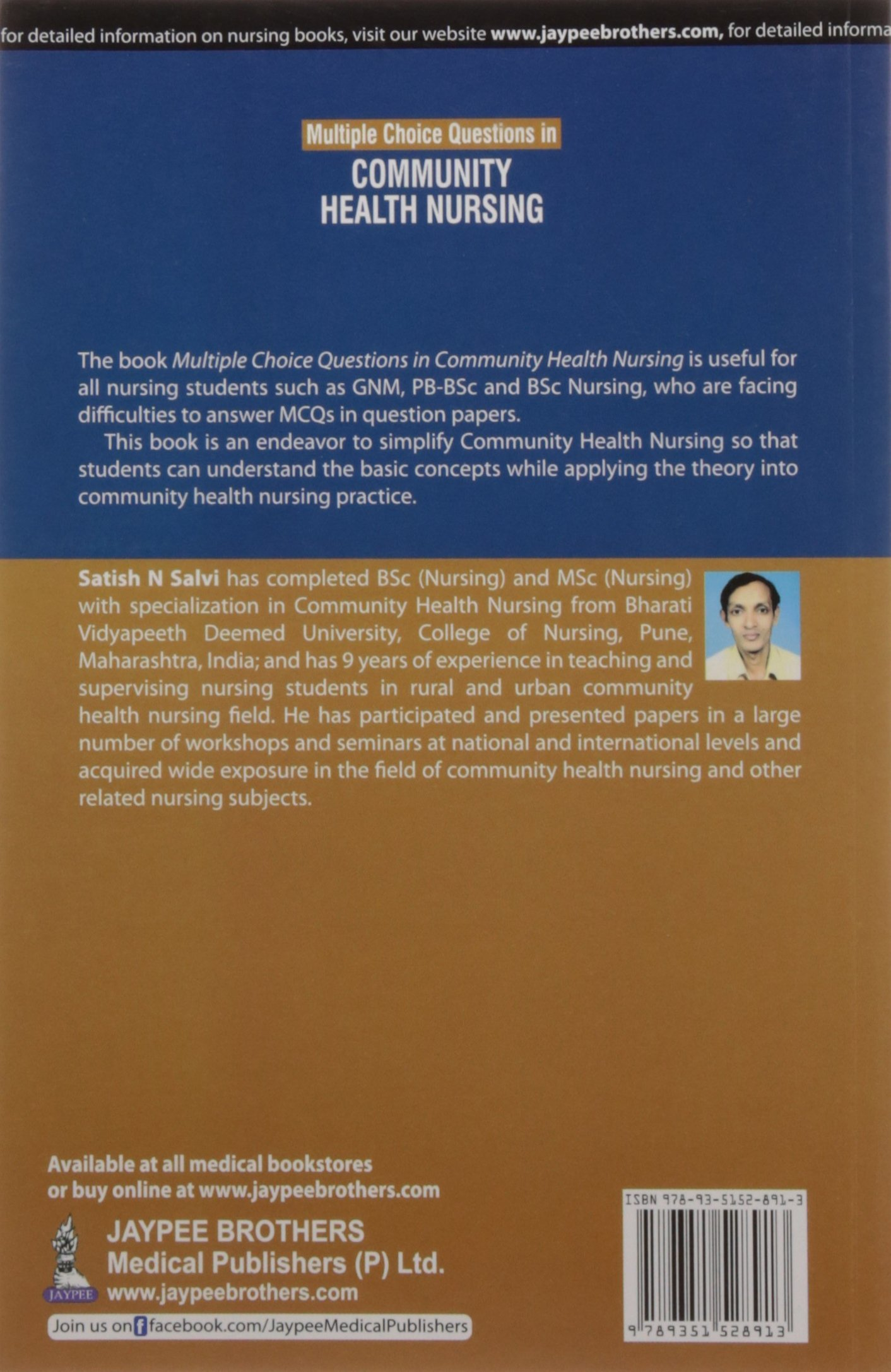 Buy Multiple Choice Questions In Community Health Nursing Book