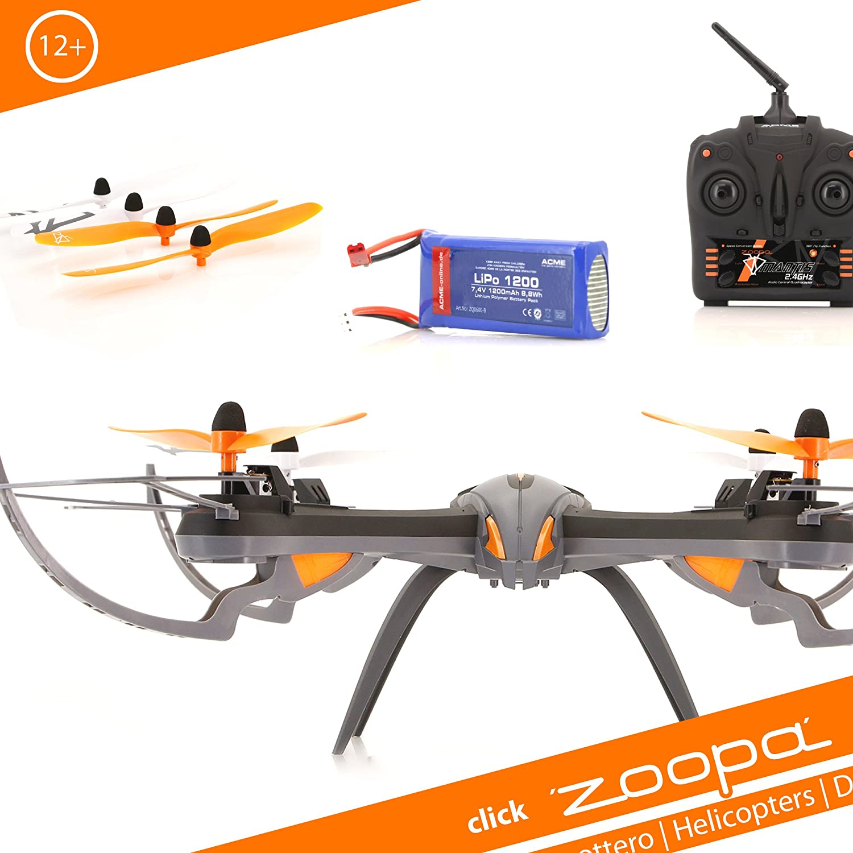 Acme Made zoopa Q600 Mantis - Drones con cámara (Negro, Naranja ...
