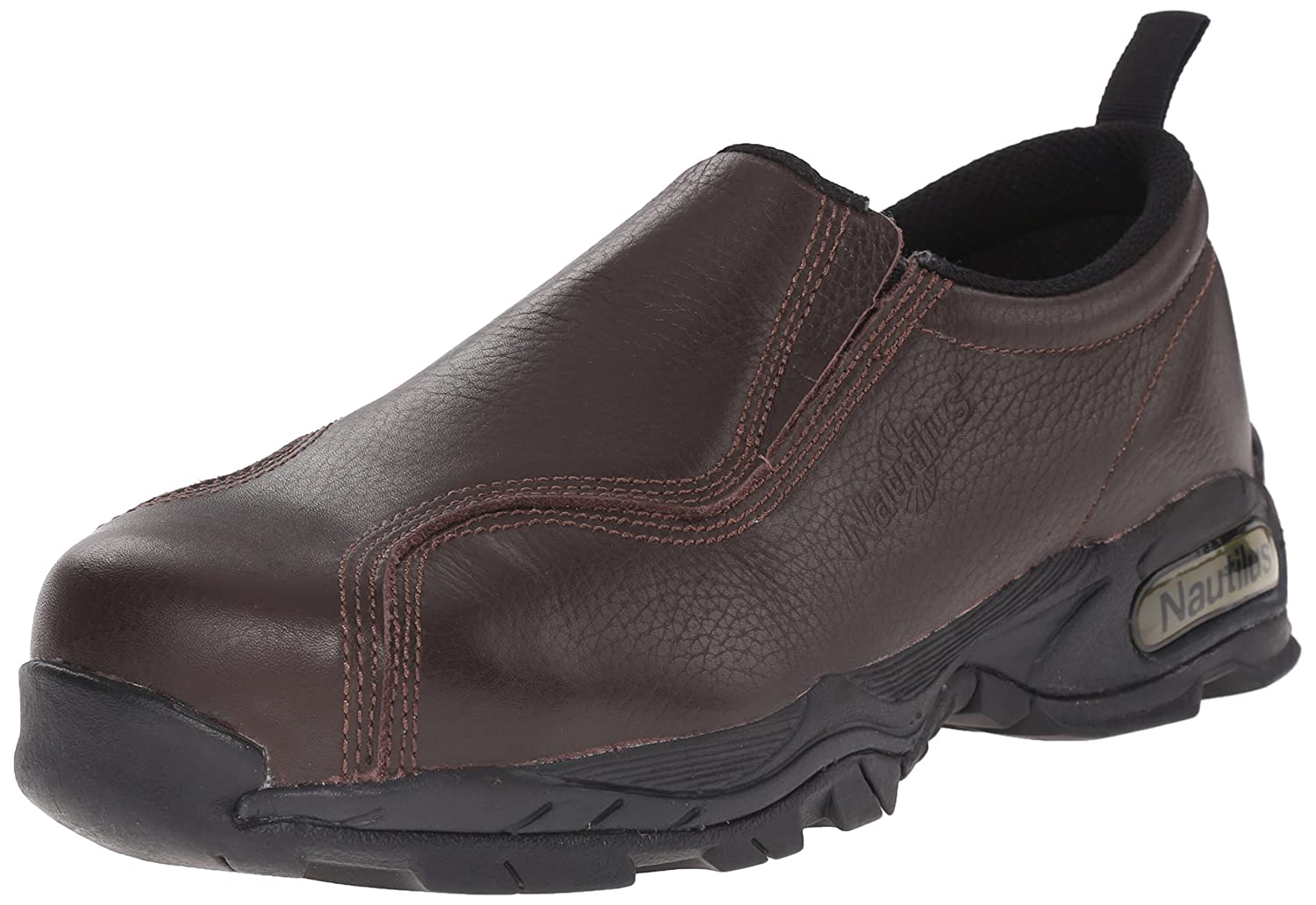 Nautilus Safety Footwear メンズ B000IX6SO6 7.5 W|ブラウン ブラウン 7.5 W