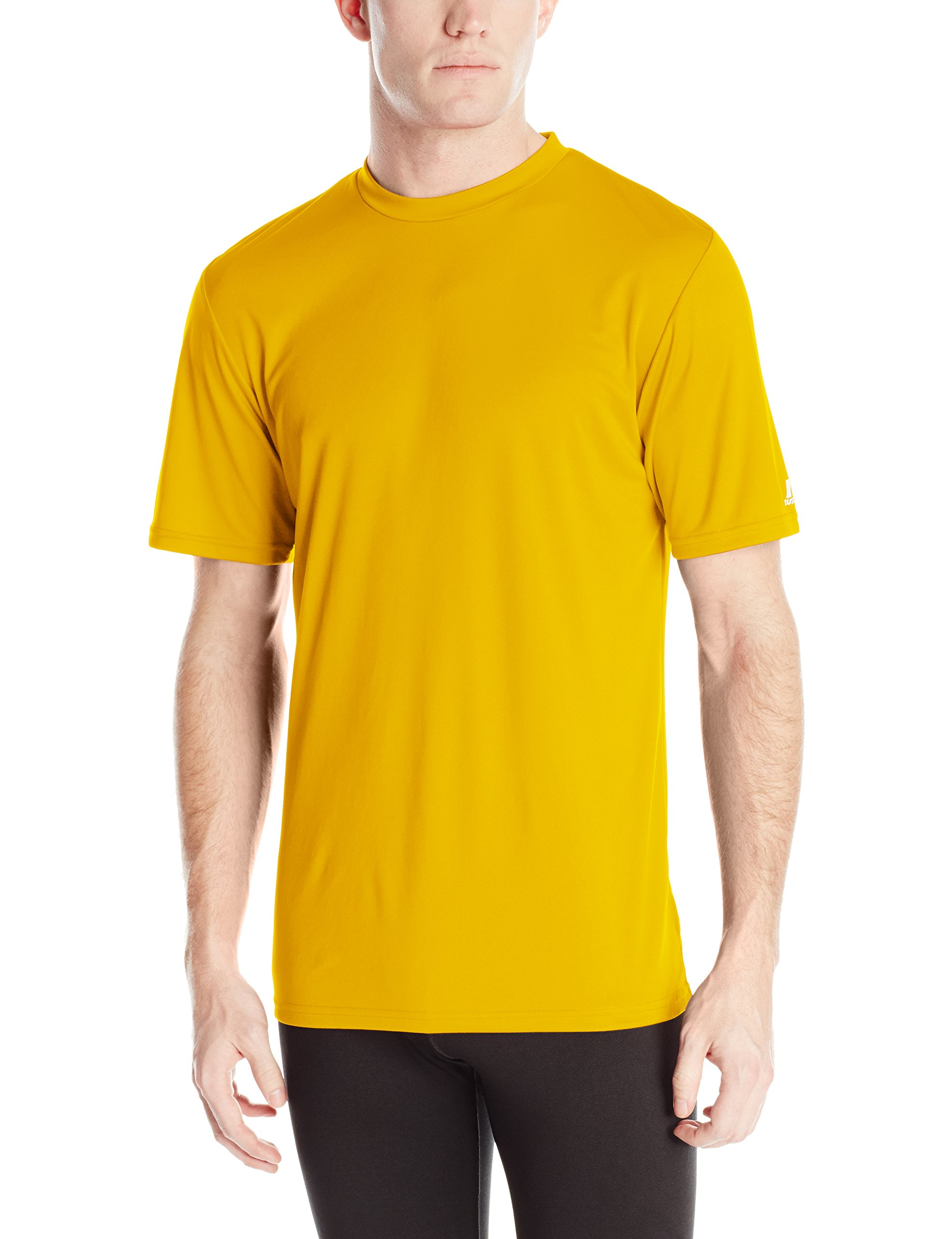 Russell Athletic Men's Performance T-Shirt, Gold, 4X-Large by Russell Athletic