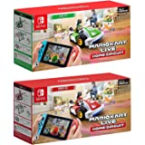 Nintendo Switch - Mario Kart ao vivo: Início Circuit - Mario Set e Luigi Set Edition - Christmas Holiday Bundle para Mudar [v