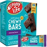 Enjoy Life Baked Chewy 1 Ounce Bars, Gluten Free, Dairy Free, Nut Free & Soy Free, Cocoa Loco, 5 Count (Pack of 6)