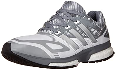 adidas Performance Men's Response Boost Techfit M Running Shoe, White/Tech  Grey/Tech