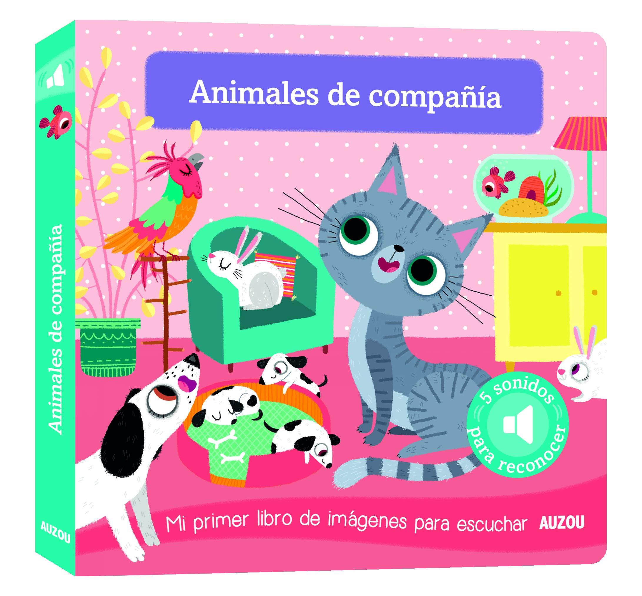 Libro de sonidos. Animales de compañía: Amazon.es: Notaert, Amandine,  Notaert, Amandine: Libros