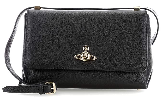 86ff4b7efa50 Image Unavailable. Image not available for. Colour  Vivienne Westwood  Balmoral Shoulder bag black