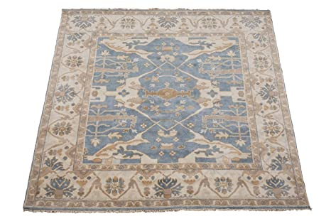 Amazon Com Manhattan Oriental Rugs Oushak 8x8 Square Veg Dye