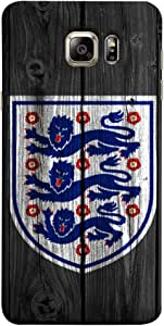 جراب ColorKing Football England 16 أسود اللون لهاتف Samsung Note 5