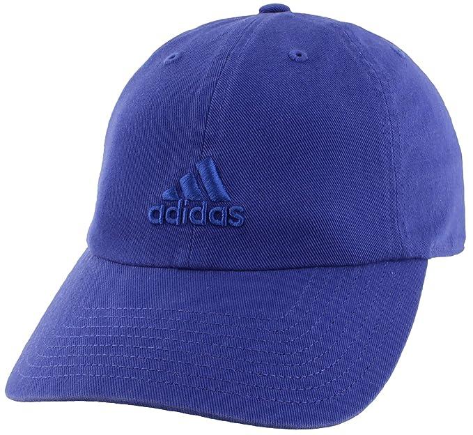 super popular quite nice buy popular Amazon.com: adidas Women's Saturday Cap, Active Blue, ONE ...