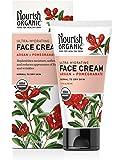Nourish Organic Ultra Hydrating Face Cream, Argan and Pomegranate, 1.7 Ounce