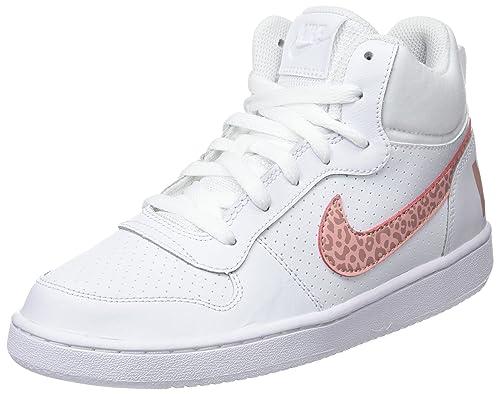 Nike Court Borough Mid Gg, Zapatillas de Gimnasia para Niñas: Amazon.es: Zapatos y complementos
