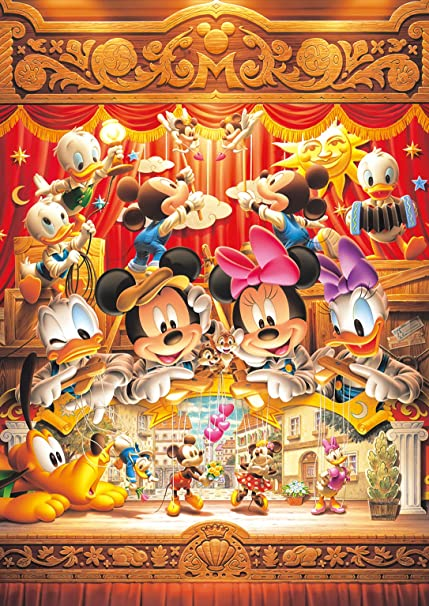 430a31e2c7f4a Tenyo (DW-470) Disney World Smallest Love Marionettes Jigsaw Puzzle (1000  Piece)