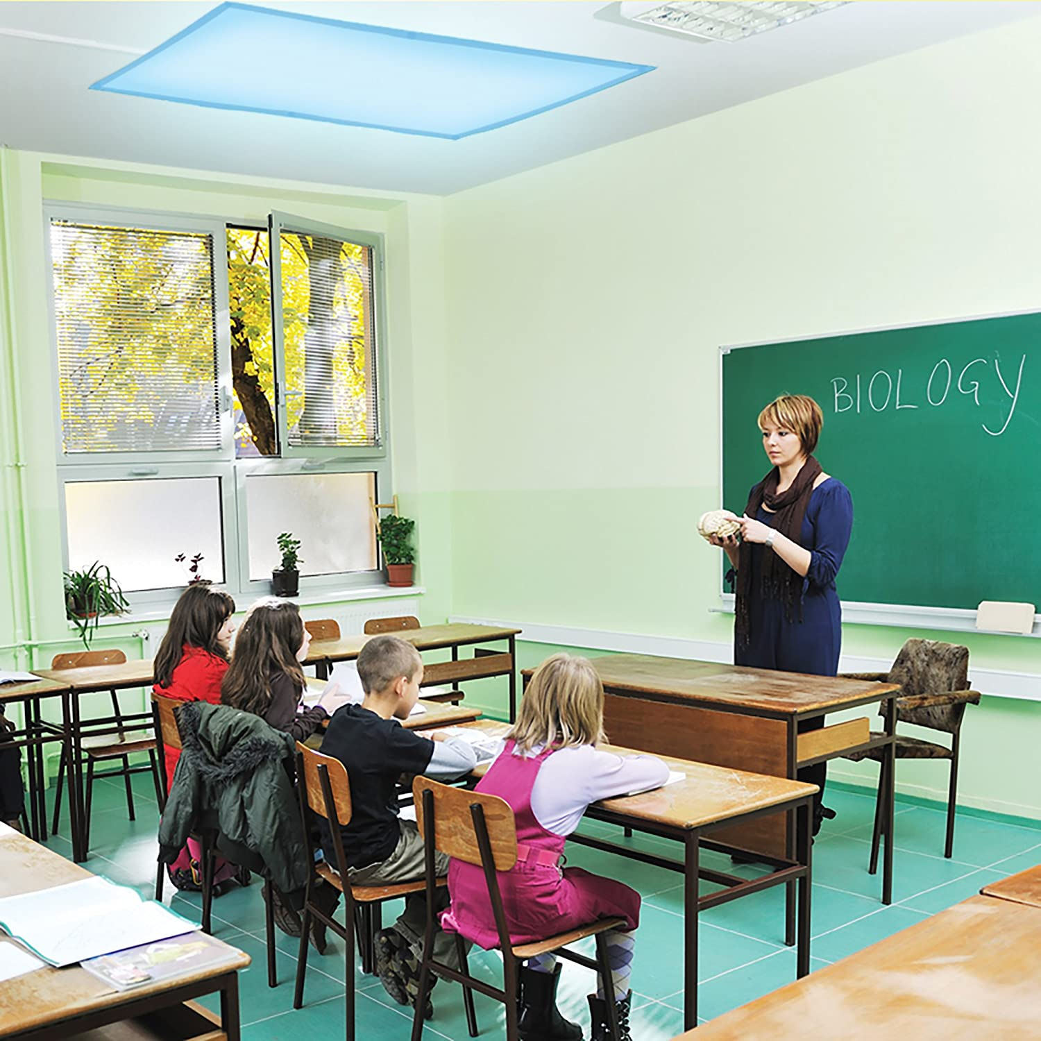Classroom Design Strategies : Fluorescent light filters for teacher classrooms autism kids