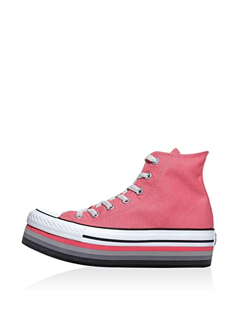 Converse Sneaker All Star Hi Canvas amazon-shoes rosa Sneakers alte zYNW02bFD