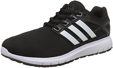 Adidas Men's Energy Cloud Wtc M Cblack/Ftwwht/Cblack Running Shoes - 10 UK
