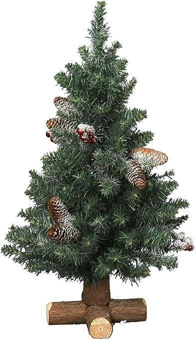 Albero Di Natale Amazon.Kaemingk Sherwood Albero Di Natale Artificiale Hauteur 75 Cm Altro Amazon It Casa E Cucina