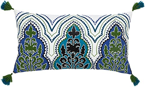 Collier Campbell Pondicherry Embroidered Decorative Pillow