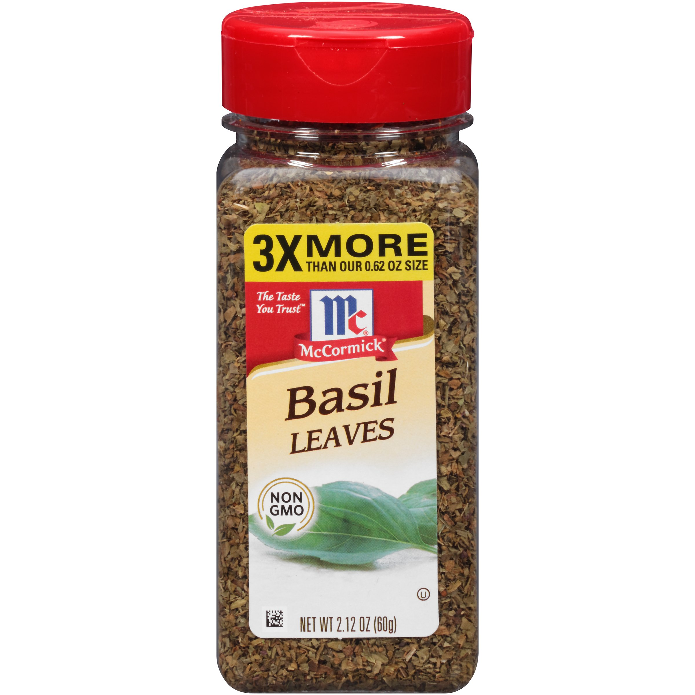 McCormick Basil Leaves, 2.12 OZ (Pack of 1)