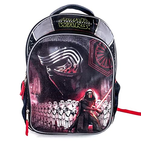 87ffeb8113b Image Unavailable. Image not available for. Color  Star Wars Episode 7 Kylo  Ren and Stormtrooper 16 Backpack ...