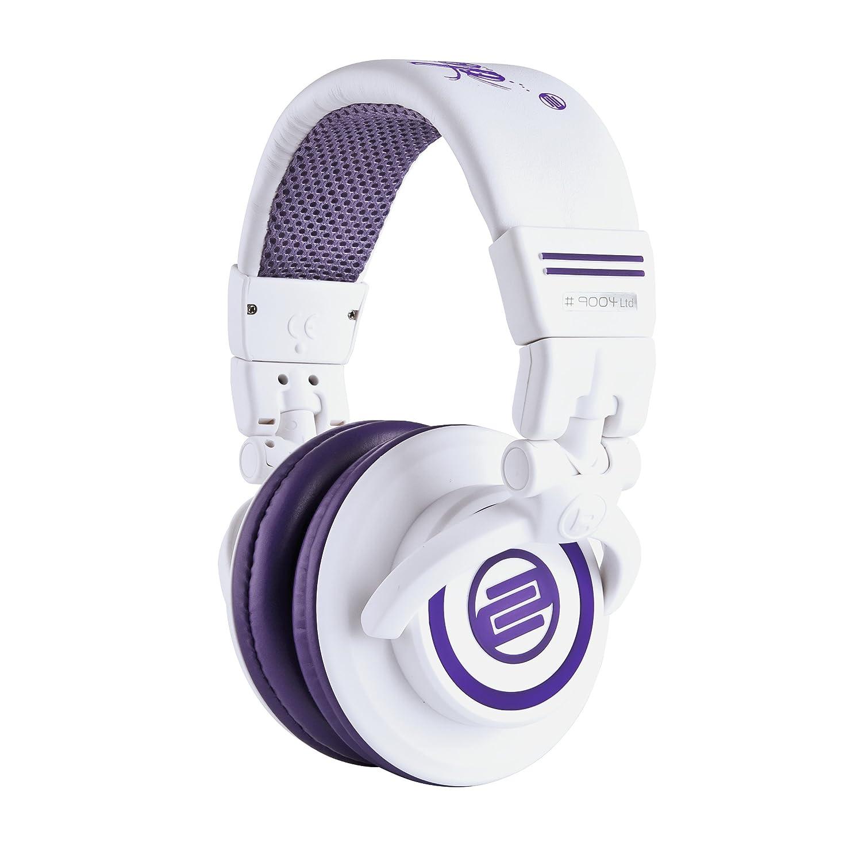 Reloop RHP-10-PM Milk DJ Headphones White/Purple, White/Purple AMS-RHP-10-PURPLE
