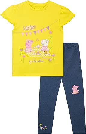 Peppa Pig Camiseta y Leggings para niñas