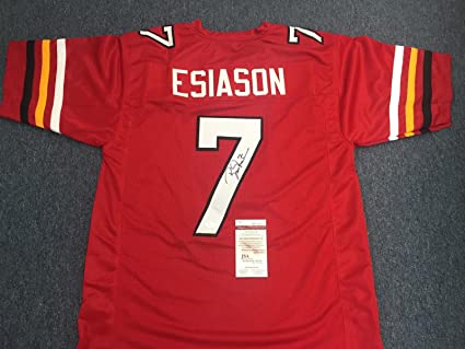07abbe8b0ad Boomer Esiason Autographed Signed Maryland Terrapins Terps Jersey ...
