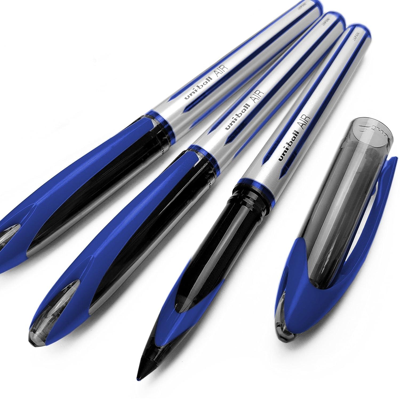 /Pack de 3/ /0,7/mm bol/ígrafo de punta rodante/ /azul/ /uba-188-l Uni-ball aire/