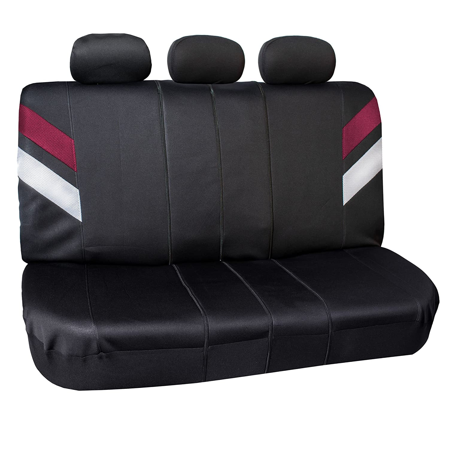 Two Tone Purple Leopard /& Black Color- Fit Most Car FH Group FB126115 Purple Leopard Full Set Car Seat Covers Truck SUV or Van Airbag Compatible