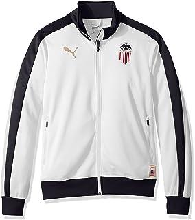 b4ee03fac Amazon.com  PUMA Men s Football Archives T7 Track Jacket