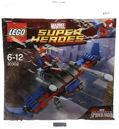 LEGO Super Heroes: Spider-Man Planeador Establecer 30302 ...