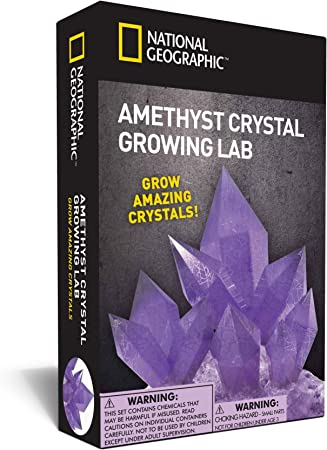 National Geographic Amethyst Grow Purple Crystals Kit