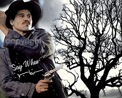 Amazoncom Say When Doc Holliday Tombstone Celebrity Hollywood