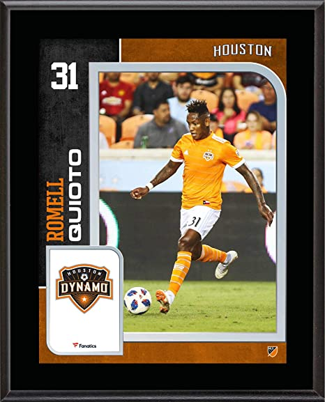 brand new 3a82e d0e9d Romell Quioto Houston Dynamo 10.5