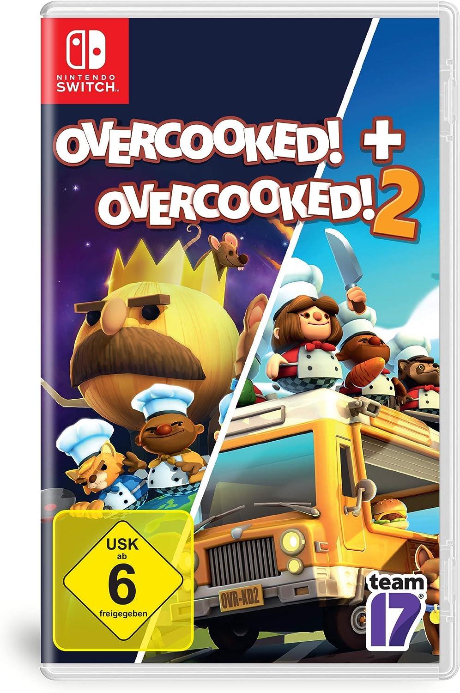 OVERCOOKED + OVERCOOKED 2 - [Nintendo Switch] [Importacion ...